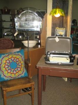 Desk, chair & more