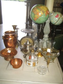 Copper, glass & globes