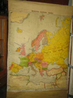 Pre WW 2 map of Europe